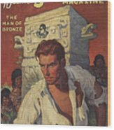 Doc Savage The Man Of Bronze Wood Print