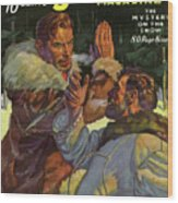Doc Savage The Mystery On The Snow Wood Print