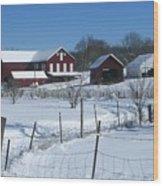 Doc Witts Farm Wood Print