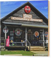 Doc's Country Store Wood Print