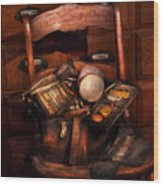 Doctor - Inside A Doctors Bag Wood Print