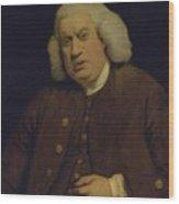 Doctor Samuel Johnson Wood Print