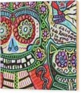 Dod Art 123cd Wood Print