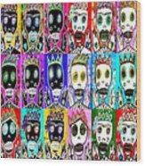Dod Art 123nbv Wood Print
