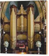 Dodd Pipe Organ Kent Town Adelaide Wood Print