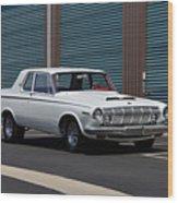 Dodge 330 Wood Print