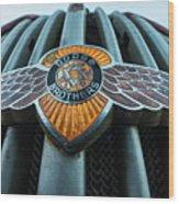 Dodge Brothers Emblem Jerome Az Wood Print