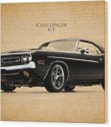 Dodge Challenger Wood Print