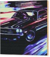 Dodge Challenger Rt 1970 Wood Print