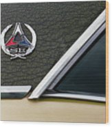 Dodge Challenger Se Classic Car Wood Print