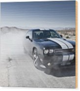 Dodge Challenger Srt8 Wood Print