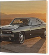 Dodge Charger - 01 Wood Print