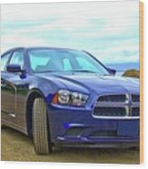 Dodge Charger Wood Print