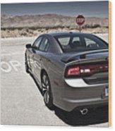 Dodge Charger Srt8 Wood Print