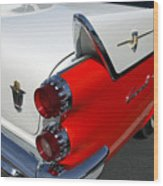 Dodge Coronet Tail Fin Wood Print