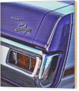 Dodge Dart Swinger Wood Print