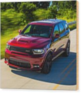 Dodge Durango Srt 2018 Wood Print