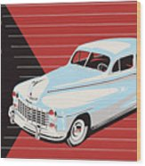 Dodge Showroom Poster Wood Print