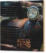 Dodge Truck Wood Print
