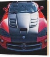 Dodge Viper Roadster Wood Print