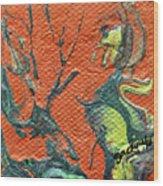 Dodo Bird Uprising Wood Print