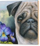 Dog #133 Wood Print