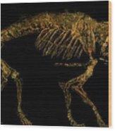 Dog Fish Wood Print