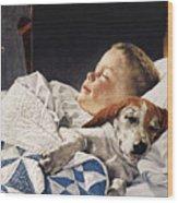 Dog Food Ad, 1956 Wood Print