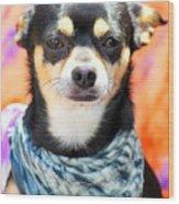 Dog Portrait. Wood Print
