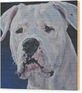 Dogo Argentino Wood Print