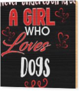 Dogs 2 Wood Print