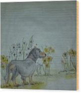 Dogs Dogs  Dogs Album Wood Print