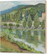 Dolan's Lake, Hunter Mt. Ny Wood Print
