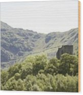 Dolbadarn Castle.  Wood Print