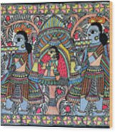 Doli Kahar 1 Wood Print