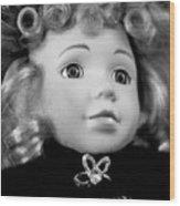 Doll 57 Wood Print