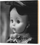 Doll 62 Wood Print