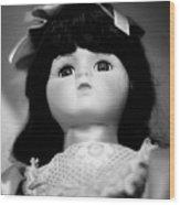 Doll 63 Wood Print