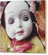 Doll Wood Print