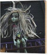 Doll X1 Wood Print