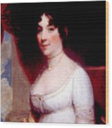 Dolley Madison 1768-1849, First Lady Wood Print by Everett