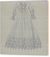 Doll's Dress Wood Print