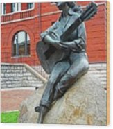 Dolly Pardon Statue 1 Wood Print