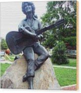 Dolly Pardon Statue 2 Wood Print