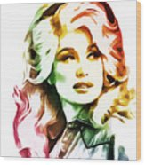 Dolly Parton Collection - 1 Wood Print