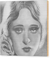 Dolores Costello Wood Print