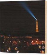 Dome Eiffel Tower Paris France Wood Print