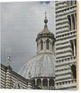 Dome In Siena Wood Print