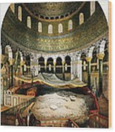 Dome Of The Rock, Jerusalem, 1862 Wood Print