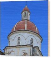Dome On A Church Wood Print